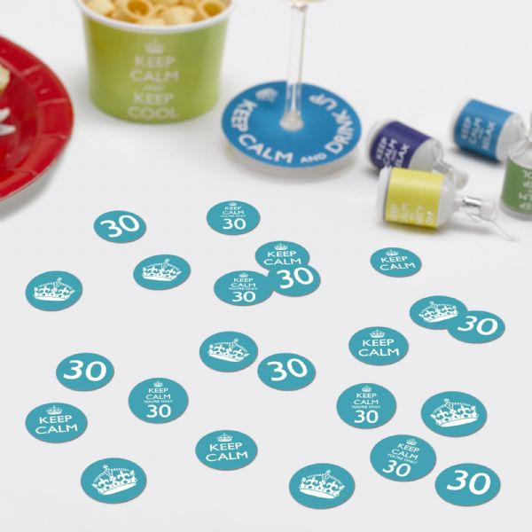 Keep Calm You're Only 30 Table Confetti (14g)